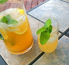 Chile and Herb Infused Lemonade