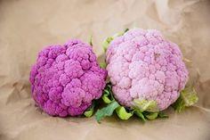 Salada de couve-flor roxa Cauliflower, Vegetables, Design, Hello Spring, Cauliflower Salad, Purple Flowers, Purple, Salads, Head Of Cauliflower