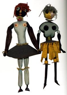 Hannah Höch dolls