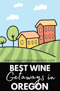 These are the best wine getaways in Oregon! Check out our list of wineries, different AVAs, where to stay near the Oregon wineries, and things to do in Oregon! Oregon City, Oregon Trail, Central Oregon, Oregon Coast, Country Hotel, Country Maps, Oregon Wine Country, Oregon Waterfalls, History For Kids
