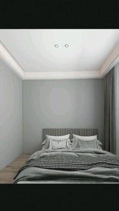 Bad Room Design, Small Room Design Bedroom, Small House Interior Design, House Furniture Design, Bedroom Setup, Room Ideas Bedroom, Home Room Design, Home Design Plans, Bedroom Decor