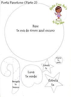 Arte de Atelie Crys: Moldes