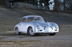 "gearheadsandmonkeywrenches:  The Little Rascal ""outlaw"" Porsche 356"