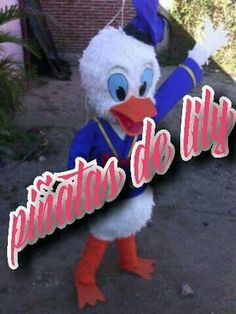 Piñata pato donald
