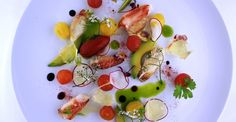 Crab / Avocado /Tomato / Yuzu Gelee - From Chef Kevin Meehan