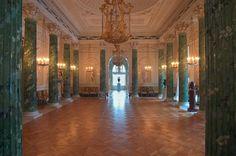 A large hall in Pavlovsky Palace