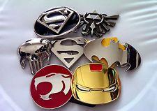 Superman Ironman Transformers Zelda Thundercats Batman Belt Buckle New Marvel DC