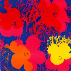 Ten Foot Flowers Poster by Andy Warhol - Lithograph Selling Art Online, Online Art, Andy Warhol Art, Retro Baby, American Artists, Art Forms, Pop Art, Art Photography, Abstract