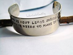 Police or Military Wife Bracelet  Deputy by SouthernComfortZone, $21.00