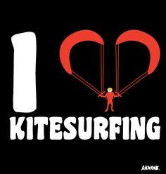 I <3 kitesurfing