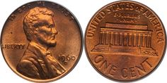 How To Grade Lincoln Memorial Cents - Picture Grading Guide