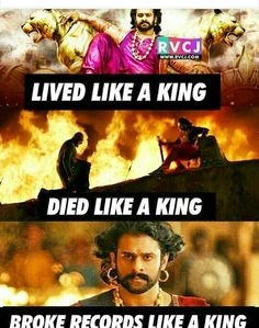 Way to go khans 👏👏👏👏. Bahubali Movie, Bahubali 2, Travis Fimmel, Bobby Bob, Prabhas And Anushka, Prabhas Pics, Funny Troll, Indian Star, Bollywood Cinema