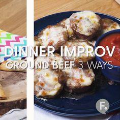 Ground Beef 3 Ways