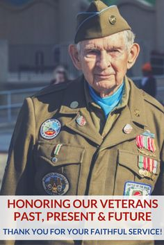 We can't express our gratitude enough for the service of our veterans!