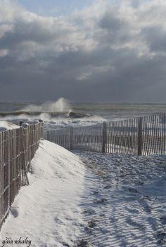 Ocean City, MD - First Snow 2014