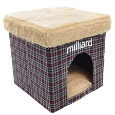 """Milliard cat Cube/Ottoman 15""""x15""""x15"""" >>> Startling review available here  (This is an amazon affiliate link. I may earn commission from it)"""
