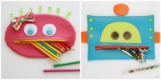 DIY pencil cases for back to school