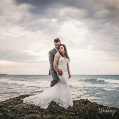 Just married at Grand Palladium Jamaica Resort and Spa. Congrats! Photography by #tulleandtweedphotography #WeddingsByPalladium