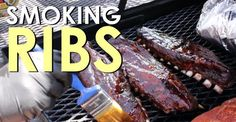 How to make smoked ribs on a gas grill. Also learn how to make a homemade dry rub and barbeque sauce to go with it.