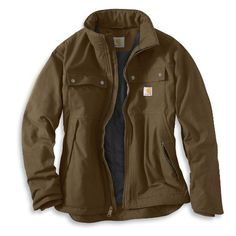 Carhartt Mens Quick Duck Woodward Traditional Coat Carhartt,