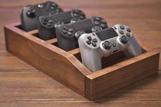 Controller Stand Organizer Ideas of Organize your video game controllers! These stands fit perfectly atop entertainment centers coffee tables and most computer cases. Stands fit Xbox 360 Xbox One Switch Pro and Stea
