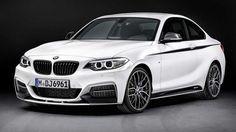 BMW M2 around the corner