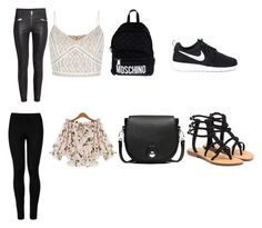 """Untitled #24"" by magdalenelib on Polyvore featuring Wolford, rag & bone, Moschino, Mystique and NIKE"