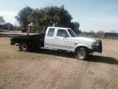 $6,800.00 each - 1995 Ford F-250 4x4 Powerstroke with Bale Bed