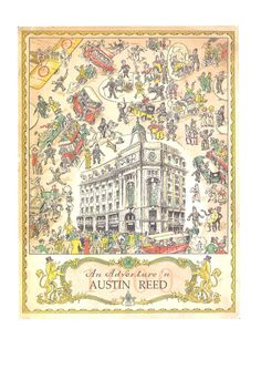 Austin Reed Vintage Lining - 'An Adventure In Austin Reed'