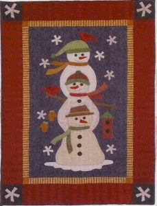 """""""Stack of Snowmen"""" Our Quilt Patterns"""