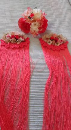 (39) vestidos de fla Flamenco Costume, Craft Projects, Projects To Try, Tassel Necklace, Arts And Crafts, Glamour, Sewing, Art Deco, Crochet