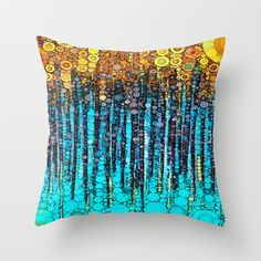 :: Party On :: Throw Pillow by GaleStorm Artworks - $20.00