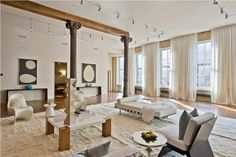 New York loft, oh wouldn't that be nice