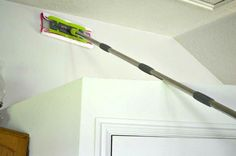Trick For Cleaning Your Walls
