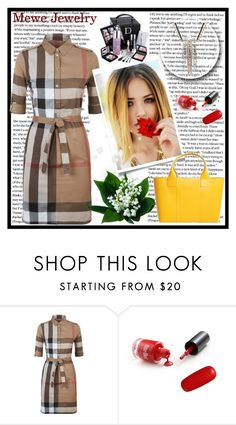 """""""Mewe Jewelry 1"""" by nedim-848 ❤ liked on Polyvore featuring Burberry and Christian Dior"""