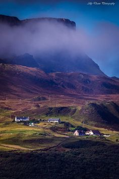 ❤️Misty Landscape View, Isle of Skye, Scotland❤️ Scotland Uk, England And Scotland, Scotland Travel, Scotland Trip, Wales, Scotland Landscape, Scottish Islands, Beautiful Places To Travel, Dream Vacations