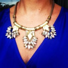 Another look of the Helena necklace