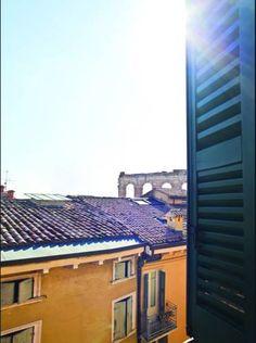 #BedAndBreakfastVeronaItalyNearColosseum: B&B Opera Prima, just 92 m from Verona's Arena, offers air-conditioned, flat-screen TV, free WiFi... Verona Italy, Free Wifi, Bed And Breakfast, Opera, Flat Screen, Tv, Outdoor Decor, Stuff Stuff, Destinations