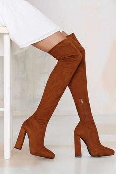 Jeffrey Campbell Isolate Over-the-Knee Suede Boot - What's New