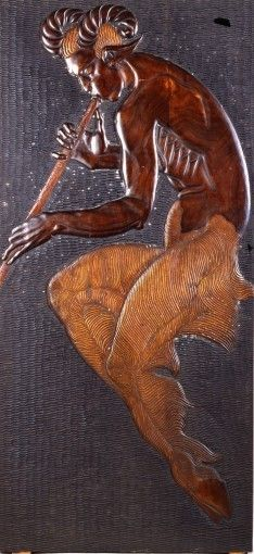 blastedheath:    Georges Artemoff(1892-1965)  Faune  Wood. Private collection.  androphilia