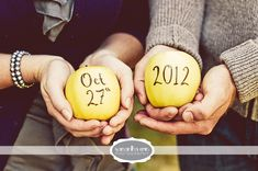 Great for fall save the date!