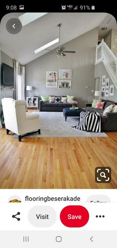 Wordly Gray, Flat Screen, Flooring, Living Room, Shopping, Flat Screen Display, Wood Flooring, Drawing Room, Sitting Area