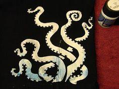saraccino: Tentacle T-shirt!