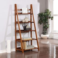 The Linon Home Charlotte Bookcase has a simple, yet sleek lined design that is matched with durability. This bookcase features 5 shelves that provide ample storage and display space with a rich, warm finish which will complement any décor. Walnut Bookcase, 5 Shelf Bookcase, Bookcase Plans, Wood Shelves, Bookcases, Wood Projects For Beginners, Diy Wood Projects, Furniture Plans, Wood Furniture