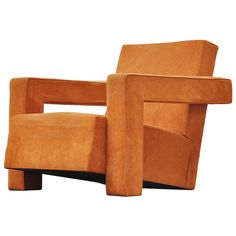 """Gerrit Thomas Rietveld """"Utrecht"""" Chair for Metz & Co., 1935   From a unique collection of antique and modern lounge chairs at https://www.1stdibs.com/furniture/seating/lounge-chairs/"""