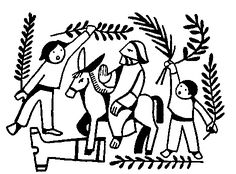 Garden of Gethsemane Cutout activity sheet for kids
