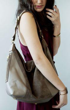 Hobo Handbags, Hobo Bag, Thrifting, Taupe, Dreams, Leather, Closet, Fashion, Beige