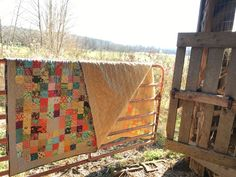 house on hill road: Marcia's Farm Quilt