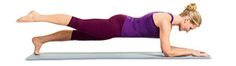 Take your planks to the next level by lifting your legs while in the plank position!
