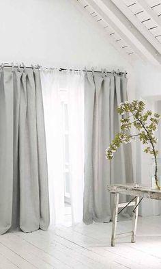 Cortinas para el salón Ideas Para, Salons, Sweet Home, Room Decor, Curtains, House, Barcelona, Random, Instagram
